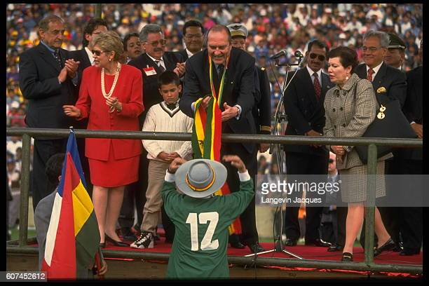 Official visit of French President Jacques Chirac to Bolivia