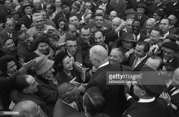 Official Visit Of General De Gaulle In Corsica Corse 7 novembre 1961 le général Charles De GAULLE se rend en visite officielle dans l'Ile de Beauté...