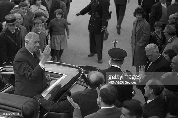Official Visit Of General De Gaulle In Corsica Corse 7 novembre 1961 le général De GAULLE se rend en visite officielle dans l'Ile de Beauté Ici il se...