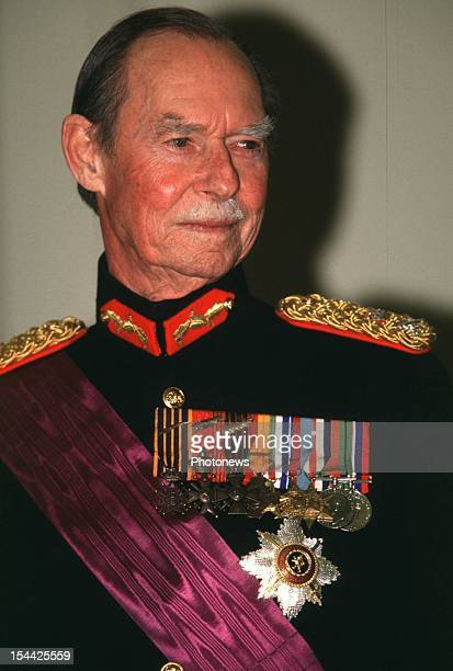 Official visit of Grand Duke Jean of Luxembourg.