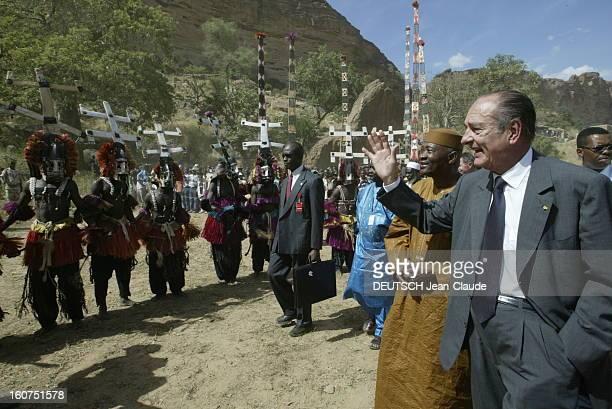 Official Visit Of Jacques Chirac In Mali Mali 25 octobre 2003 Visite de quatre jours du président Chirac au Mali et au Niger pour soutenir le...