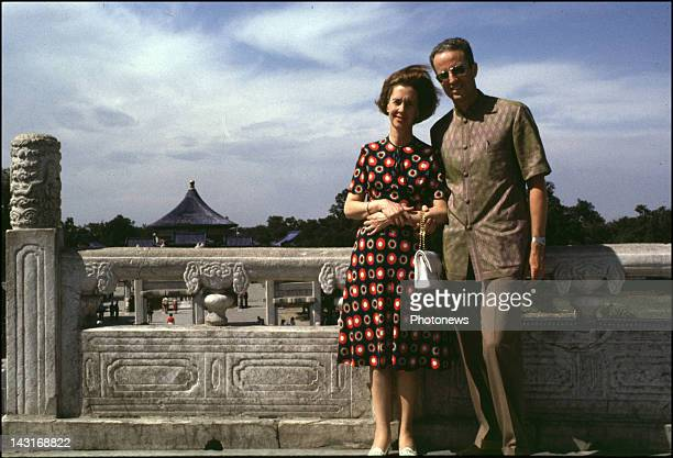 Official visit of King Baudouin and Queen Fabiola of Belgium to China