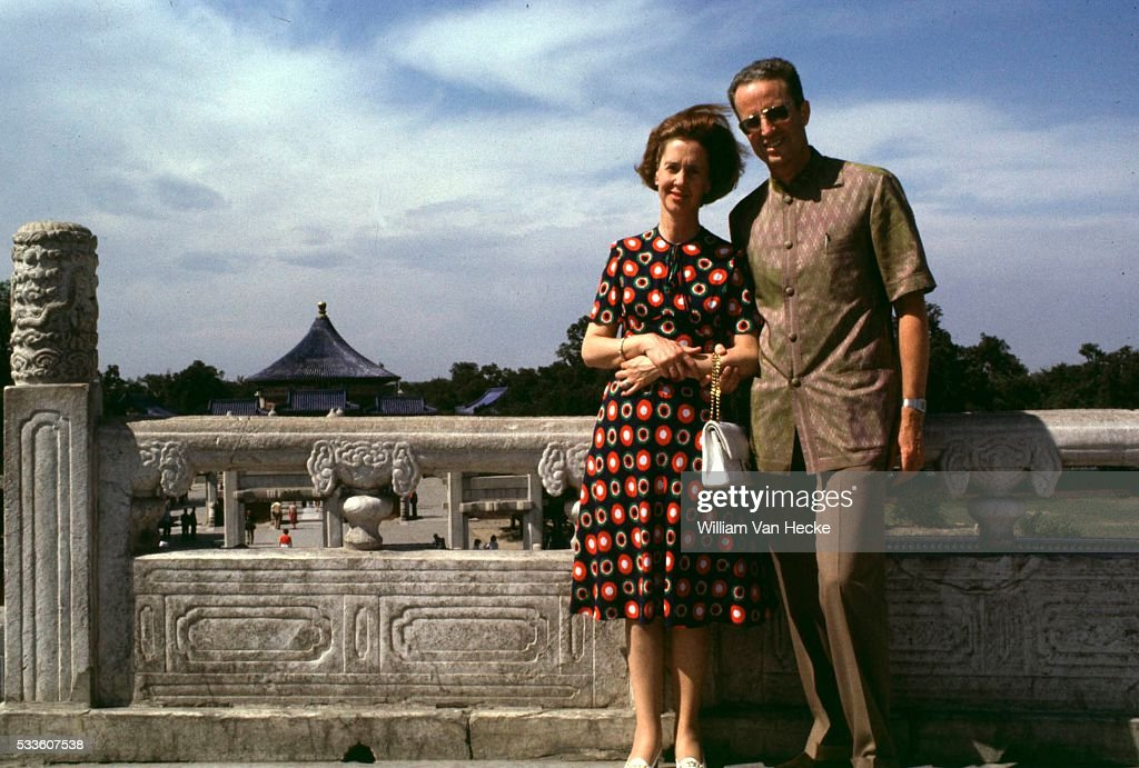 Official visit of King Baudouin and Queen Fabiola of Belgium to China.