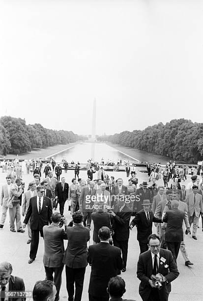 Official Visit Of Nikita Khrushchev To New York EtatsUnis Washington 18 septembre 1960 visite officielle de Nikita KHROUCHTCHEV président du Conseil...