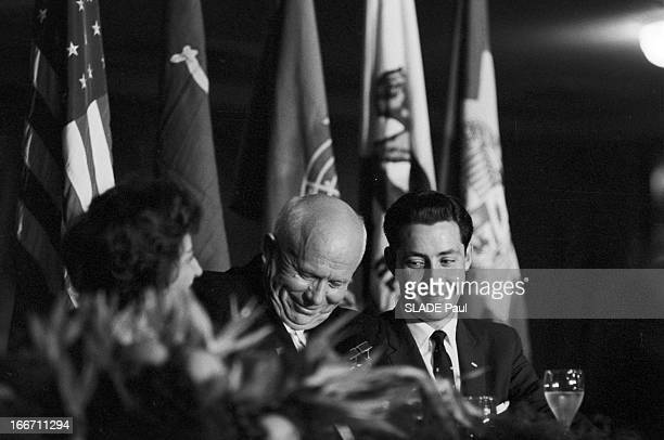 Official Visit Of Nikita Khrushchev To The United States In Hollywood EtatsUnis Los Angeles Hollywood septembre 1959 visite officielle de Nikita...