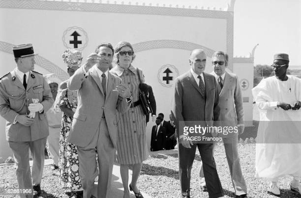Official Visit Of President George Pompidou To Niger Au Niger Niamey février 1972 depuis l'indépendance de ce pays c'est la première visite d'un...