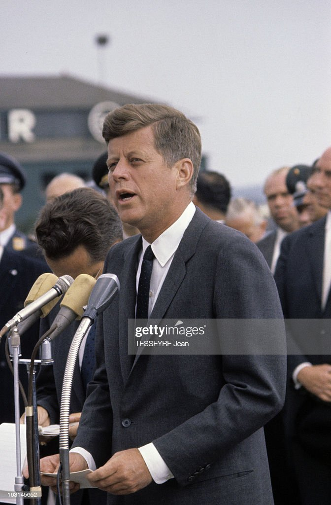 50 Years Since John F Kennedy makes 'Ich Bin Ein Berliner' Speech