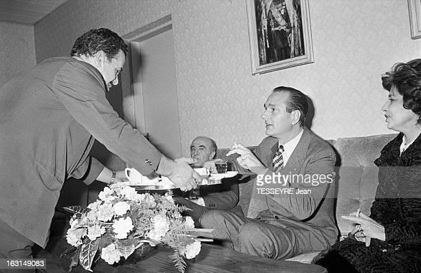 Official Visit Of Prime Minister Jacques Chirac To Iran En decembre 1974 à l'occasion d'une visite officielle en Iran le premier ministre français...