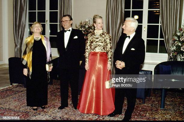 Official visit of Queen Margrethe to FRG