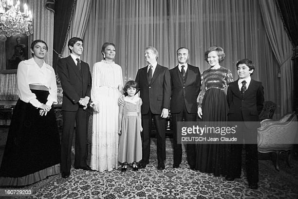 Official Visit Of The President Of The United States Jimmy Carter In Iran Iran Téhéran 1 janvier 1978 Lors de sa visite officielle le président des...
