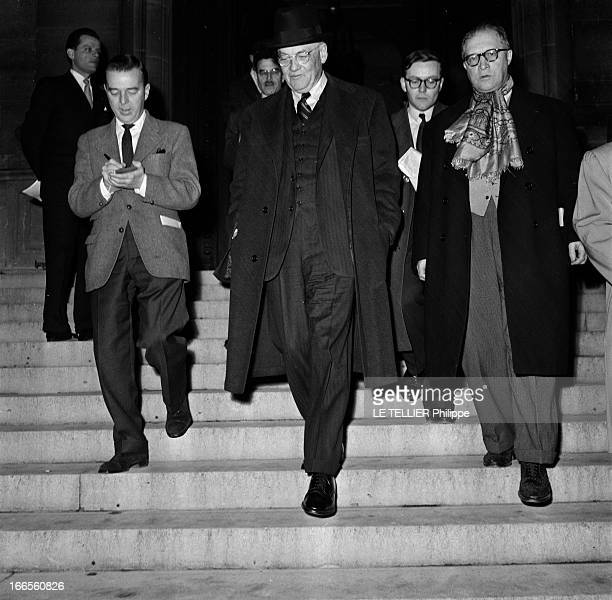 Official Visit Of The Secretary Of State John Foster Dulles Paris 10 Décembre 1956 A l'occasion d'une rencontre entre la France et les EtatsUnis John...