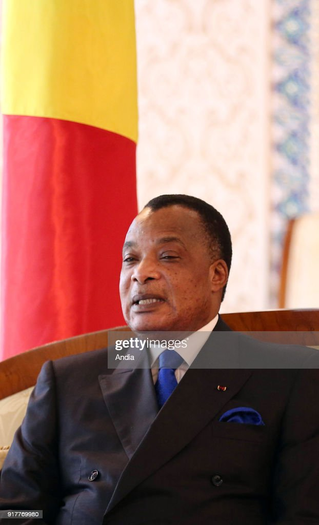 Official visit to Algeria of Denis Sassou-Nguesso, President of the Republic of the Congo, where we was welcomed by Mohamed Larbi Ould-Khelifa, President of the National People's Assembly.