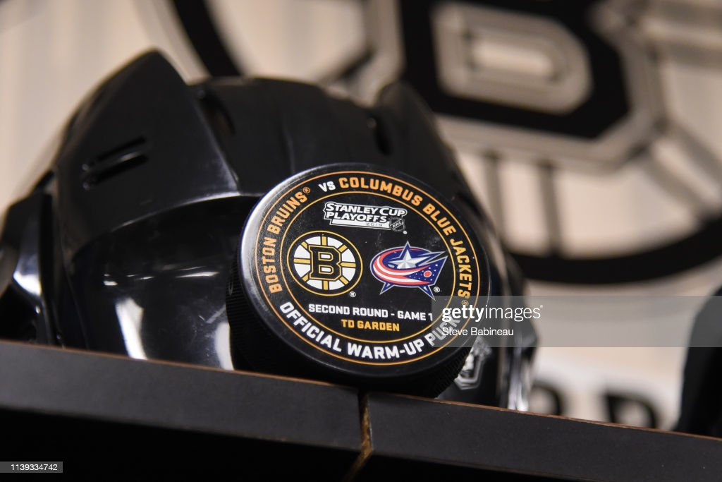 MA: Columbus Blue Jackets v Boston Bruins - Game One