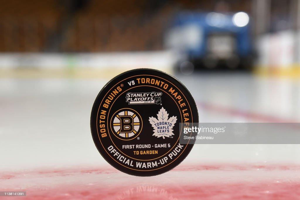 MA: Toronto Maple Leafs v Boston Bruins - Game Five