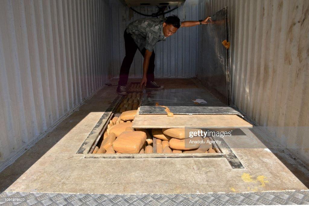 BNN seizes 1.4 tons of cannabis in Bogor : News Photo