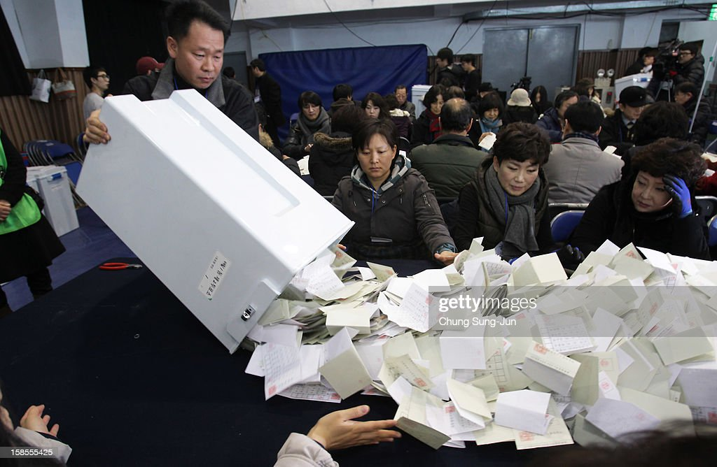 South Korean Vote In Presidential Election : News Photo