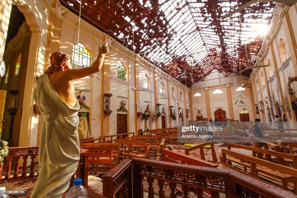 Multiple explosions in Sri Lanka kill at least 207 : News Photo