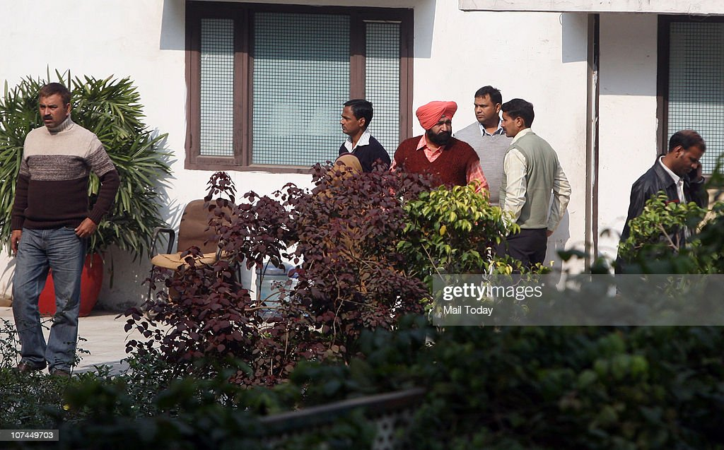 Cbi Raid At A Raja S Residence Pictures Getty Images