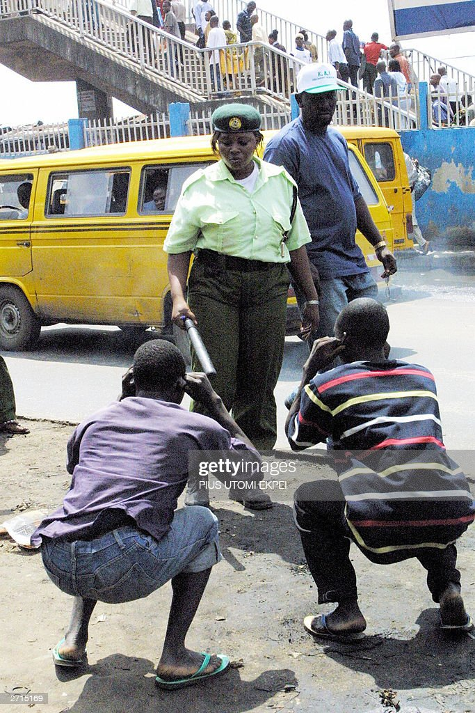 Officials of Kick Against Indiscipline ( : News Photo