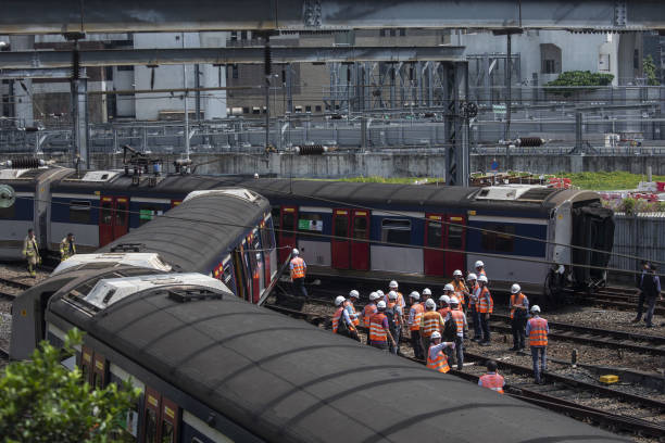 CHN: MTR Train Derails in Hong Kong in Latest Setback for Company