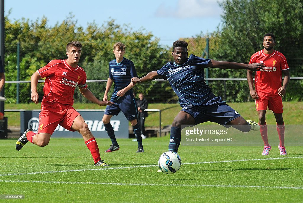 Barclays U18 Premier League: Liverpool U18 v Derby County U18 : News Photo