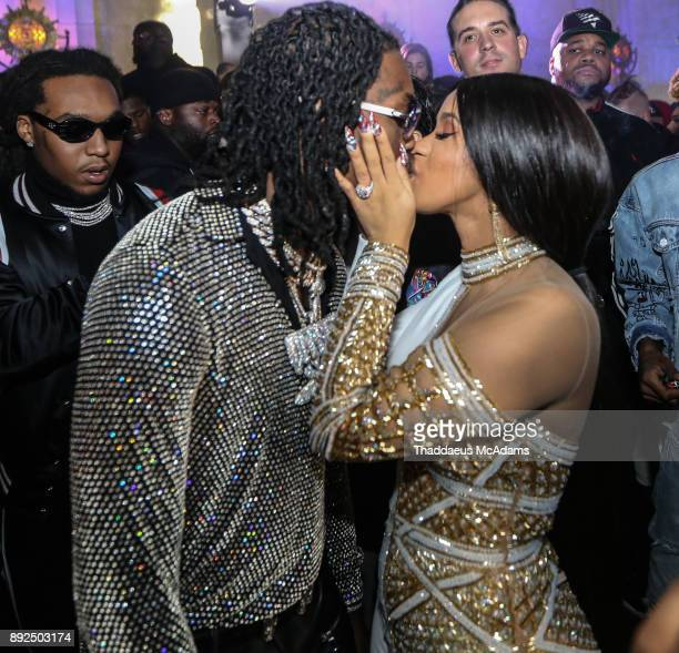 Offset and Cardi B at The MacArthur on December 13 2017 in Los Angeles California