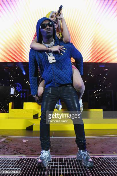 Offset and Cardi B perform at Summer Jam 2019 at MetLife Stadium on June 02 2019 in East Rutherford New Jersey