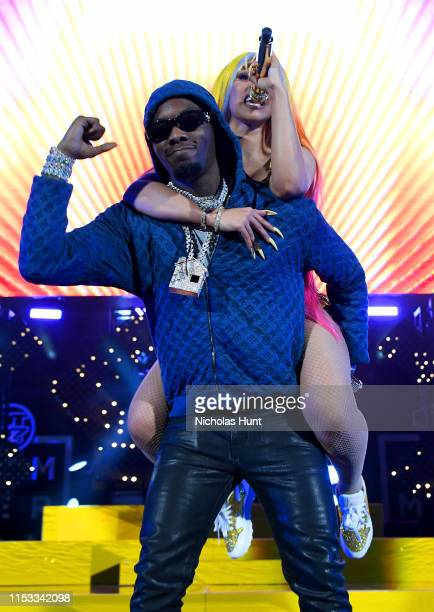 Offset and Cardi B perform during Summer Jam 2019 at MetLife Stadium on June 02 2019 in East Rutherford New Jersey