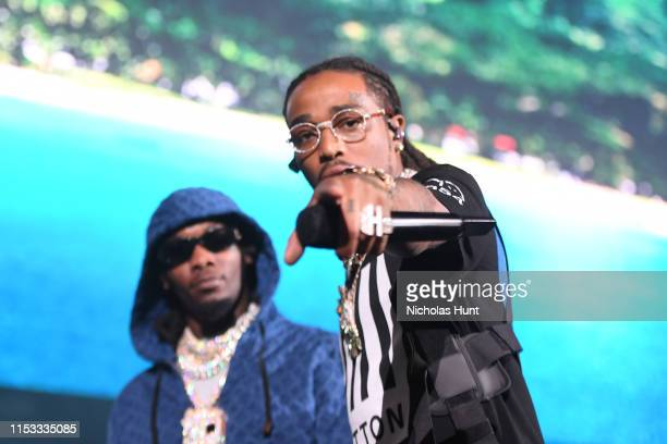 Offset and Quavo of Migos performs during Summer Jam 2019 at MetLife Stadium on June 02 2019 in East Rutherford New Jersey