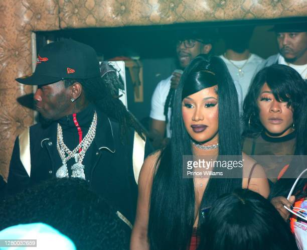 Offset of Migos and Cardi B attend Allure Monday Nights at Allure Gentlemen's Club on October 12, 2020 in Atlanta, Georgia.