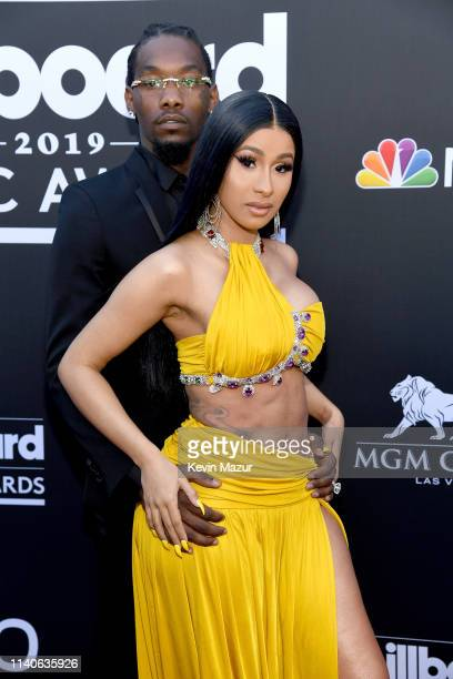 Offset of Migos and Cardi B attend the 2019 Billboard Music Awards at MGM Grand Garden Arena on May 1, 2019 in Las Vegas, Nevada.