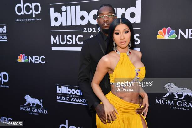 Offset of Migos and Cardi B attend the 2019 Billboard Music Awards at MGM Grand Garden Arena on May 1 2019 in Las Vegas Nevada