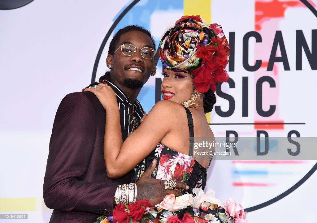 2018 American Music Awards - Red Carpet : News Photo