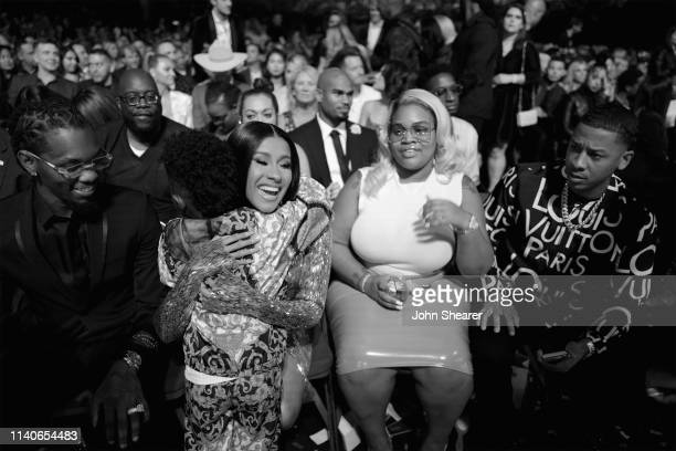 Offset of Migos Future Zahir Wilburn and Cardi B attend the 2019 Billboard Music Awards at MGM Grand Garden Arena on May 1 2019 in Las Vegas Nevada