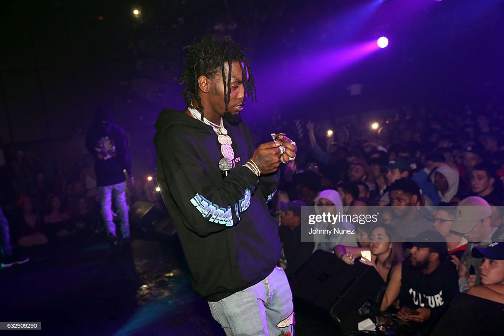 Offset of Migos performs at Highline Ballroom on January 27, 2017 in New York City.