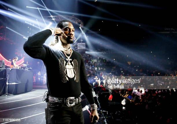 Offset of Migos performs onstage at the STAPLES Center Concert Sponsored By Sprite during BET Experience at Staples Center on June 22, 2019 in Los...