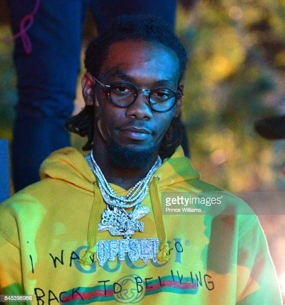 Offset Of The Group Migos attends a Party at Compound on September 10 2017 in Atlanta Georgia