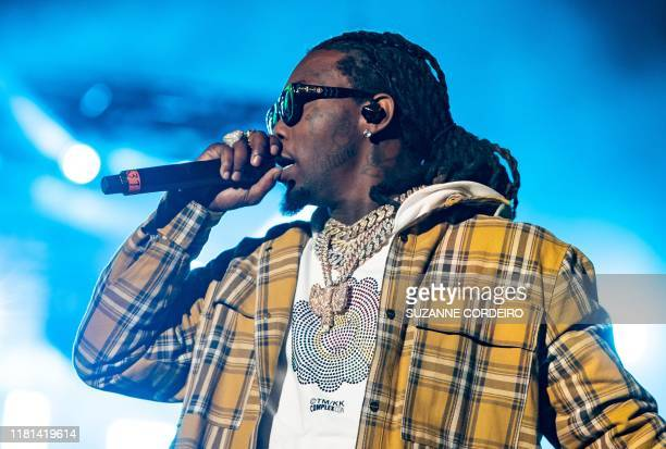 Offset of the Group Migos performs during the Astroworld Festival at NRG Stadium on November 9 2019 in Houston Texas