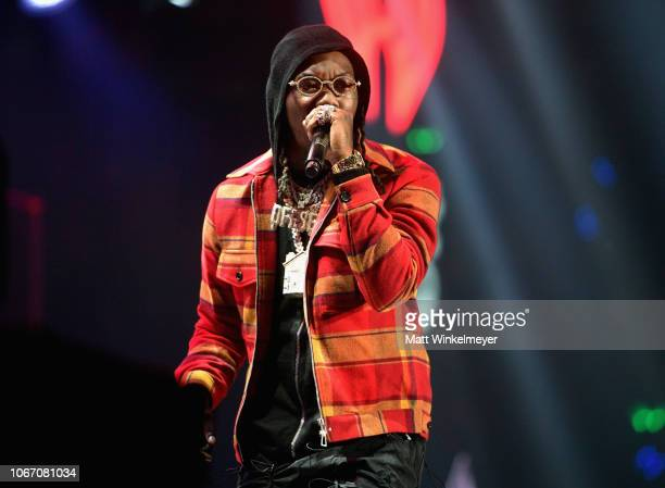Offset performs onstage during 1027 KIIS FM's Jingle Ball 2018 Presented by Capital One at The Forum on November 30 2018 in Inglewood California
