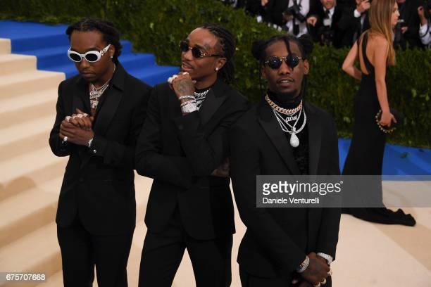Offset Quavo and Takeoff of Migo attend 'Rei Kawakubo/Comme des Garcons Art Of The InBetween' Costume Institute Gala Arrivals at Metropolitan Museum...