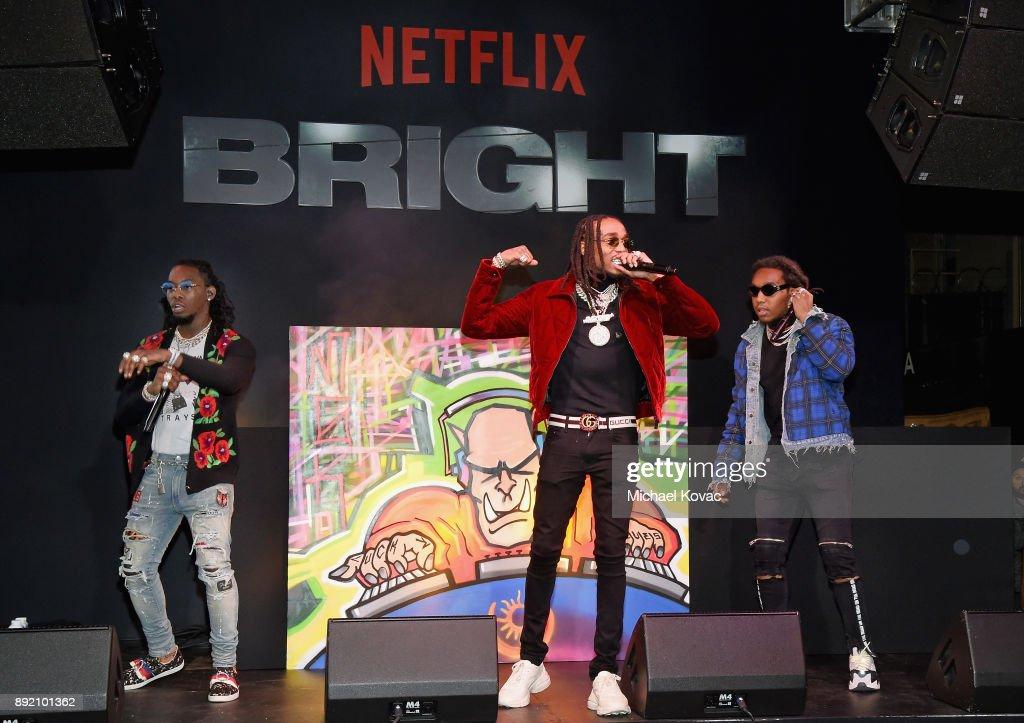 "LA Premiere of Netflix Films ""BRIGHT"" : News Photo"