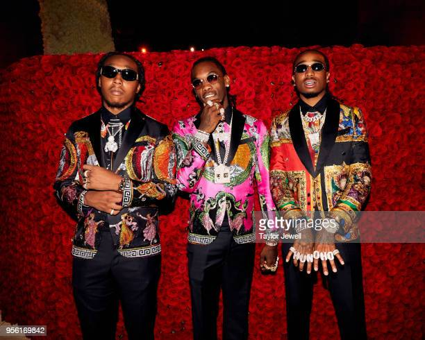 Offset Takeoff and Quavo of Migos attend Heavenly Bodies Fashion The Catholic Imagination Costume Institute Gala at The Metropolitan Museum of Art on...