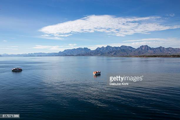 Offshore view at Loreto, Mexico