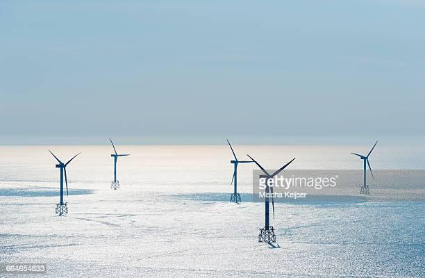 Offshore wind farm, North Sea