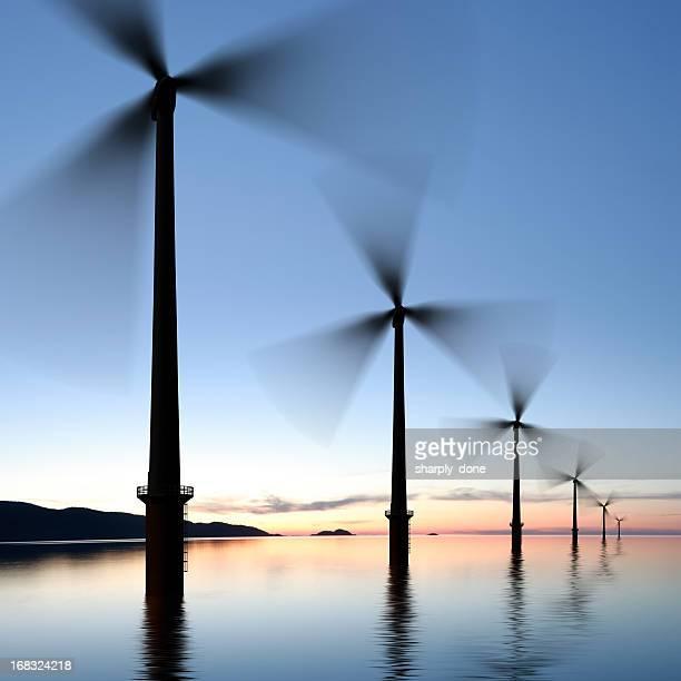 XXXL offshore wind turbines