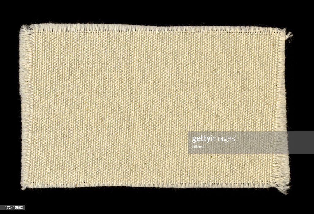 off-white frayed cotton swatch background texture : Stock Photo