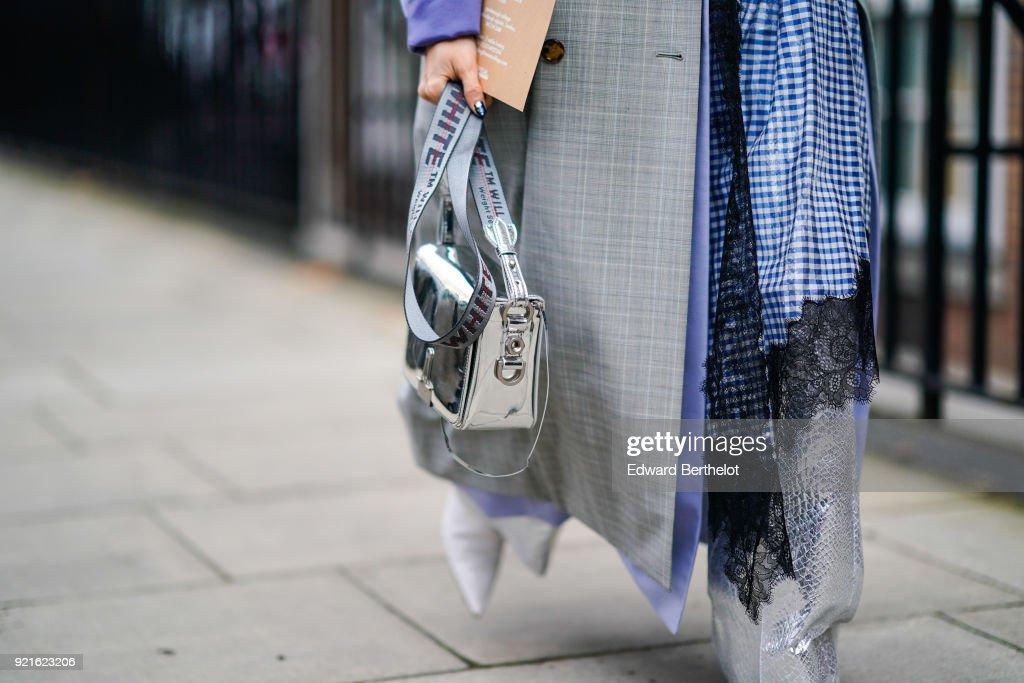 Street Style - LFW February 2018 : Foto di attualità