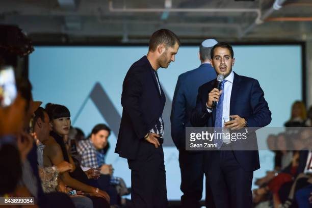 Ofir Fisher and John Cohen attend OR Movement Tahor Group Present NYFW Desert Flower by Matan Shaked Keren Wolf and Aviad Arik Herman at 666 Fifth...