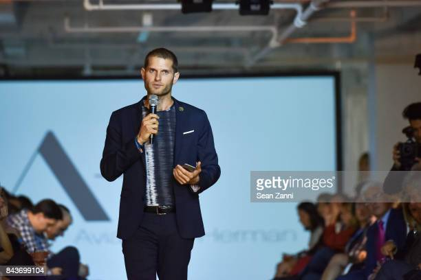 Ofir Fisher attends OR Movement Tahor Group Present NYFW Desert Flower by Matan Shaked Keren Wolf and Aviad Arik Herman at 666 Fifth Avenue on...