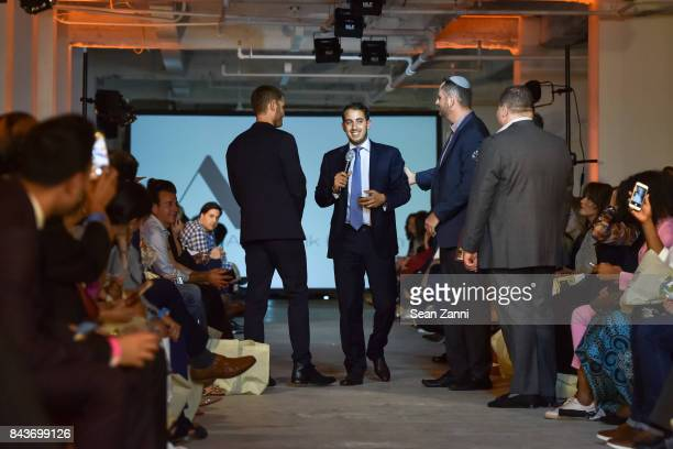 Ofir Fisher Jeremy Halpern John Cohen and Guest attend OR Movement Tahor Group Present NYFW Desert Flower by Matan Shaked Keren Wolf and Aviad Arik...